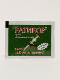 Купить инсектицид  Ратибор 4мл (против тли и короладского жука)
