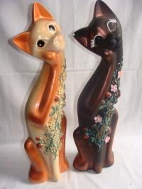 """Статуэтка фигурка для сада """"Коты разных пород"""""""