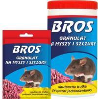 Купить BROS гранулы от крыс и мышей 100г