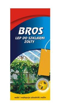 КупитьBROS клейкий лист для садов и теплиц 10 шт.