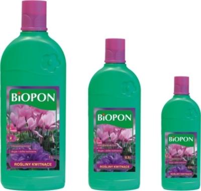 Купить удобрение BIOPON для цветущих растений 0,5л