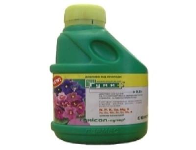 Гумисол-супер для цветов 0,5л