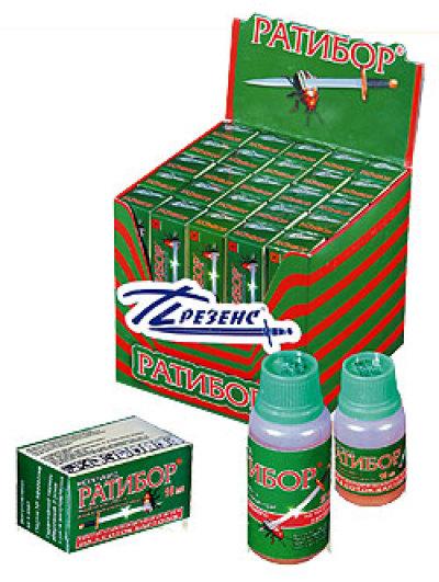 Купить инсектицид  Ратибор 100мл (против тли и короладского жука)