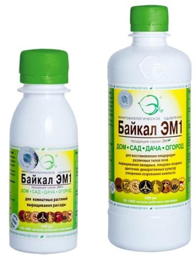 Байкал ЭМ 1л (биопрепарат для удобрения)