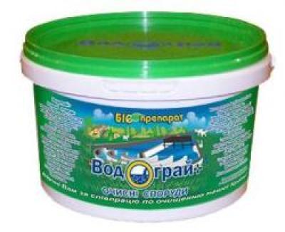 Биопрепарат Водограй + Очистные Сооружения 500г