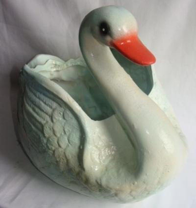 Статуэтка фигурка для сада «Прекрасный Лебедь»