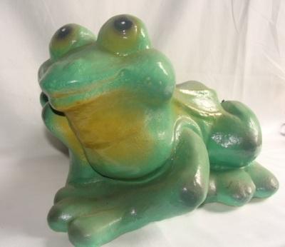 Статуэтка фигурка для сада «Задумчевая лягушка»
