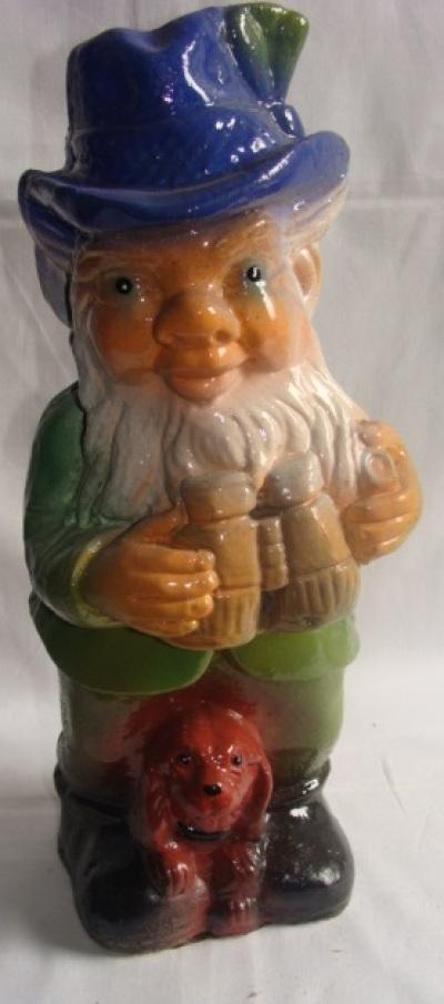 Статуэтка фигурка для сада «Маленький гном на охоте»