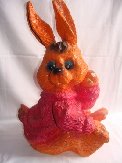 Статуэтка фигурка для сада «Веселый заяц»