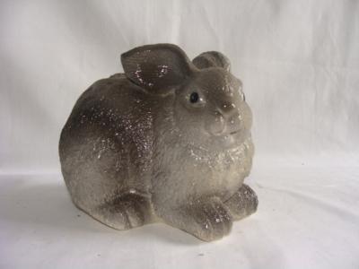 Статуэтка фигурка для сада «Серый кролик»