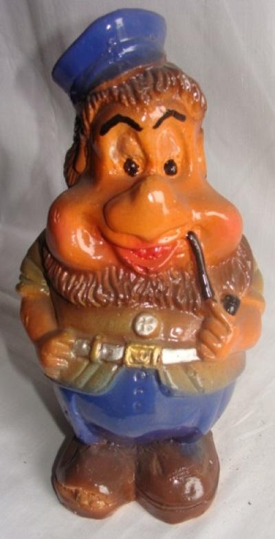 Статуэтка фигурка для сада «Гном с трубкой»
