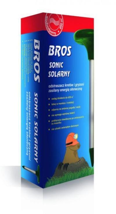 BROS Solar sonic - отпугиватель кротов 1шт