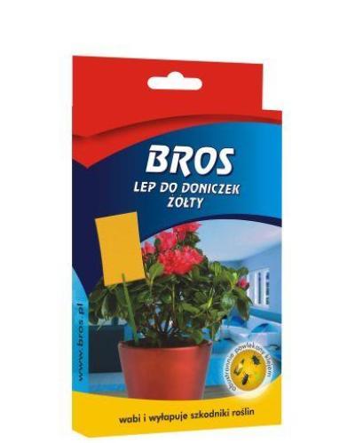 Купить BROS клейкий лист для горшков 10 шт.